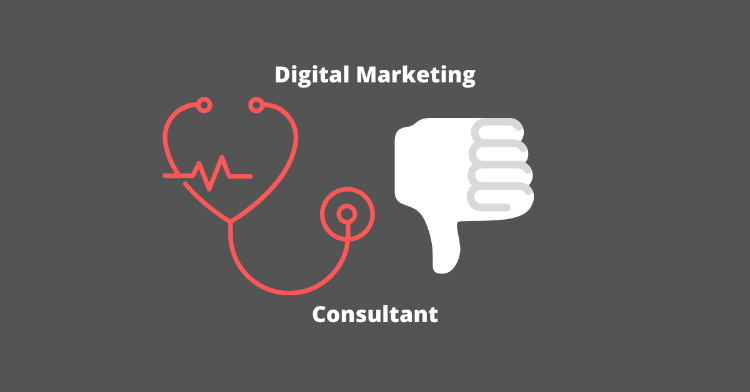 when not to hire a digital marketing consultant
